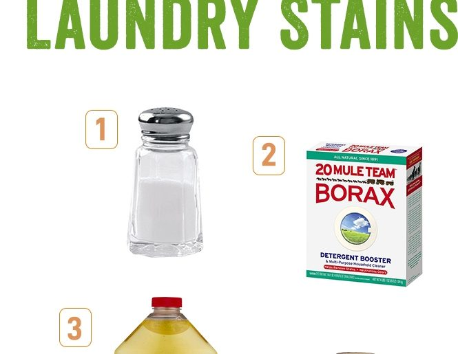 How To Get Rid Of Various Laundry Stains